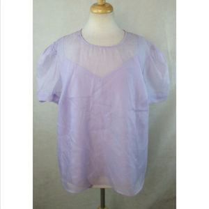 A NEW DAY XXL 2XL Layered 2fer Blouse Top NEW